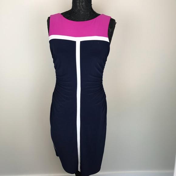 70a48b08acbf2 Lauren Ralph Lauren Dresses   Skirts - Lauren Ralph Lauren Sleeveless Color  Block Dress